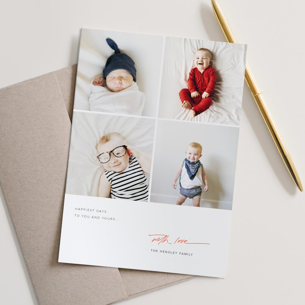 9 Ideas For A Hassle Free Holiday Card
