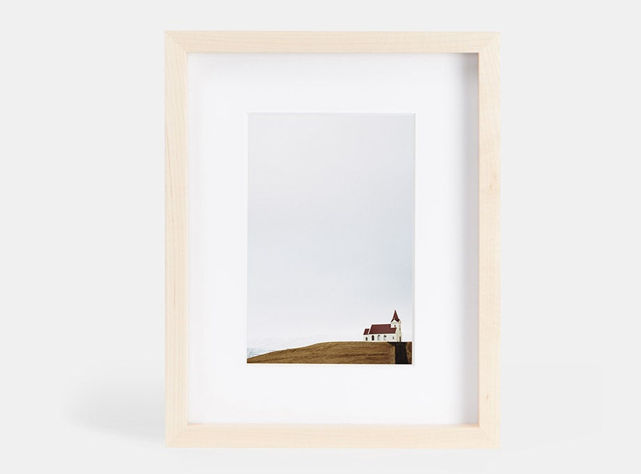 print in a gallery frame