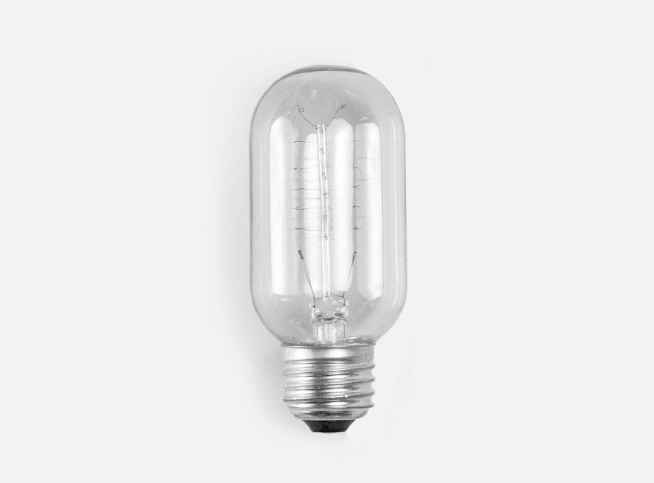 cylindrical lightbulb