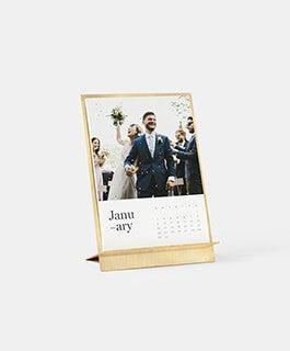 Brass Easel + Calendar