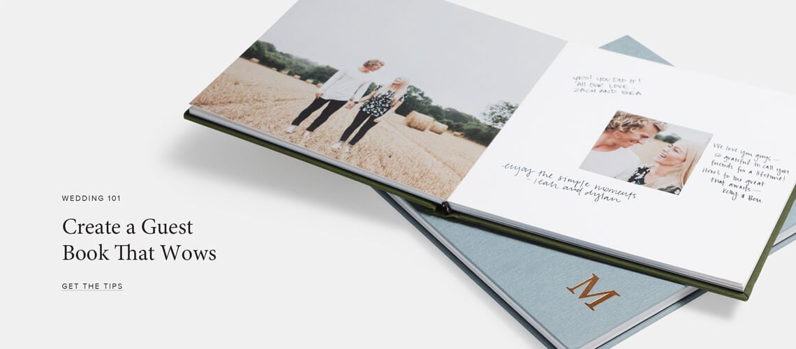Unique Wedding Photo Guest Book