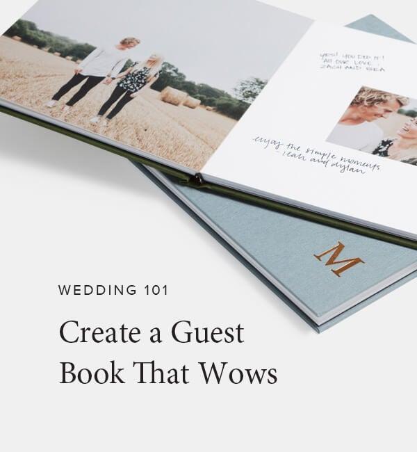 wedding guests book